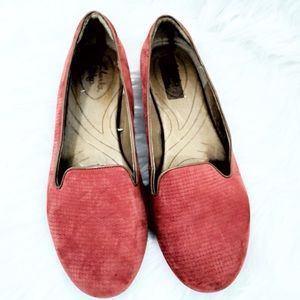 Clark's Indigo Flats Leather Loafers Size 10